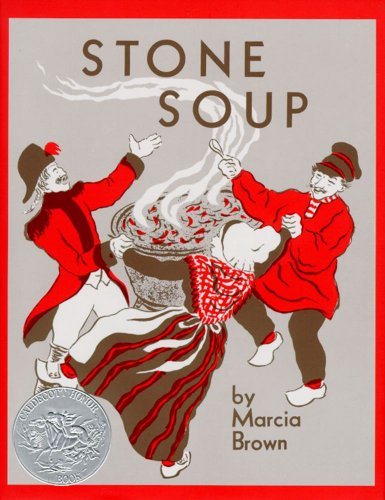Stone Soup: An Old Tale (Aladdin Picture Books) by [Brown, Marcia]