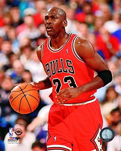 Michael Jordan Chicago Bulls NBA Action Photo (Size: 8