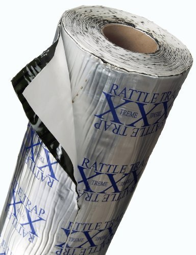 (FatMat Self-Adhesive RattleTrap Sound Deadener Bulk Pack with Install Kit - 150 Sq Ft x 80 mil Thick)