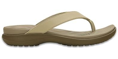 25259d4cd430 Crocs Women s Capri V Flip Flops  Amazon.co.uk  Shoes   Bags
