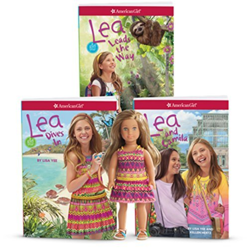 American Girl Lea 6-Inch Mini Doll and 3-Book Set for Girls NEW