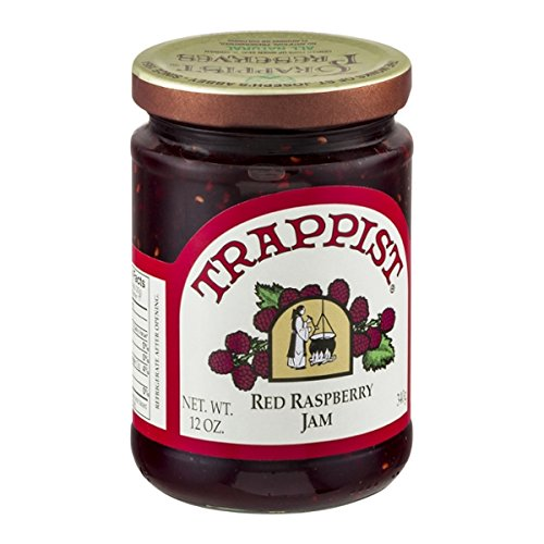 Trappist Red Raspberry Seedless Jam - All Natural 12 oz.