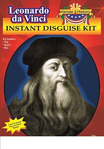 [Heroes in Patriotic History Instant Disguise Set - Leonardo da Vinci] (Women In History Costumes)