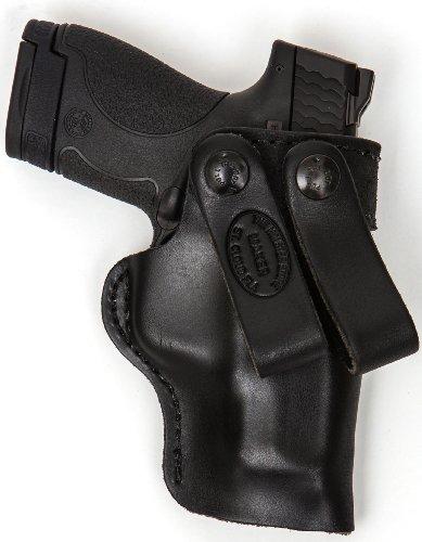 SPRINGFIELD XD COMPACT 9 MM 40 CALIBER PRO CARRY DEEP COMFORT LEATHER IWB GUN HOLSTER FOR YOUR PISTOL - NEW! (Best Compact 40 Cal Handgun)