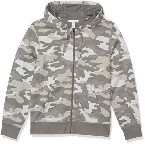 : Amazon Essentials Men's Full-Zip Hooded Fleece Sweatshirt