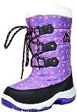 Arctiv8 Little Kid Nordic Purple Knee High Winter Snow Boots Size 2 M Us Little Kid | amazon.com