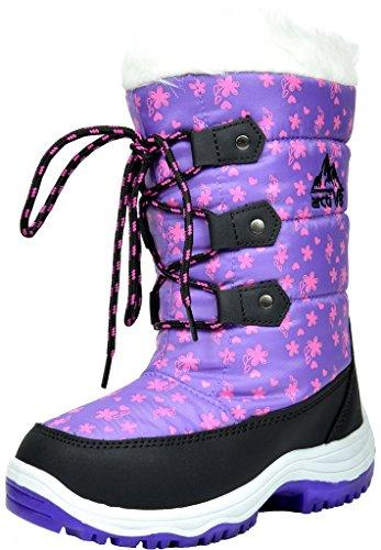 Little Girls Snow Boots - 2