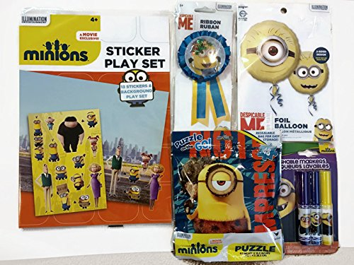 Minions gift set : Perfect for Boys & Girls age 3 & up