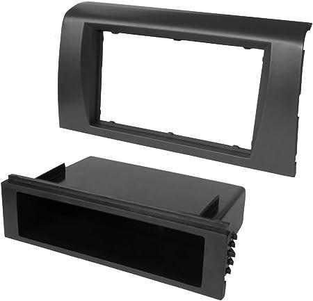 AERZETIX Adaptateur Autoradio Fa/çade Cadre R/éducteur 1 DIN