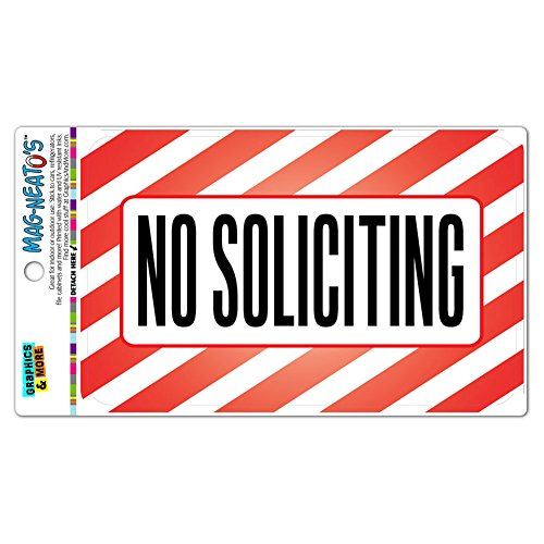 Soliciting MAG NEATOS Vinyl Magnet Sign