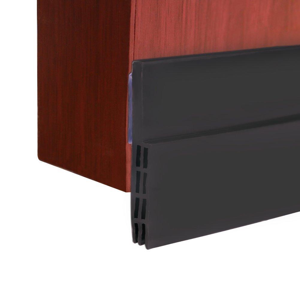 bajo puerta barrido Weather adhesiva para desmontar de proyecto de puerta,puerta parte inferior de