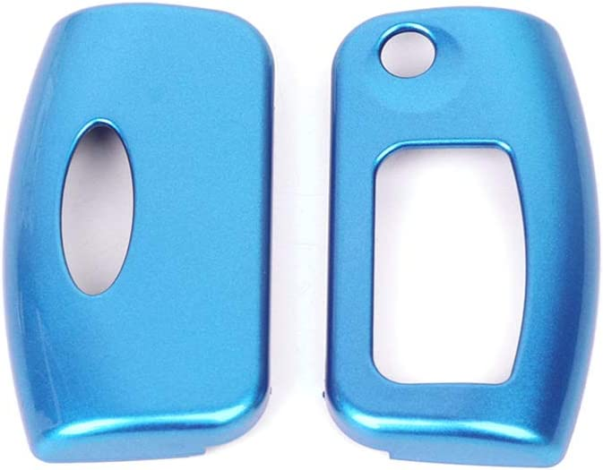 Sidougeri ABS Paint Car Key Protection Cover for Fiesta Mk7 Ecosport