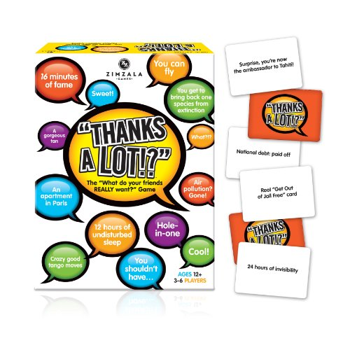 Games - Thanks A Lot! Toys New Gifts Licensed 01041