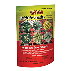 Voluntary Purchasing Group Fertilome 21742Herbicide Granules Weed and Grass Stopper, 4-Pound