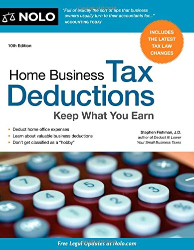 Download Home Business Tax Deductions: Keep What You Earn pdf epub