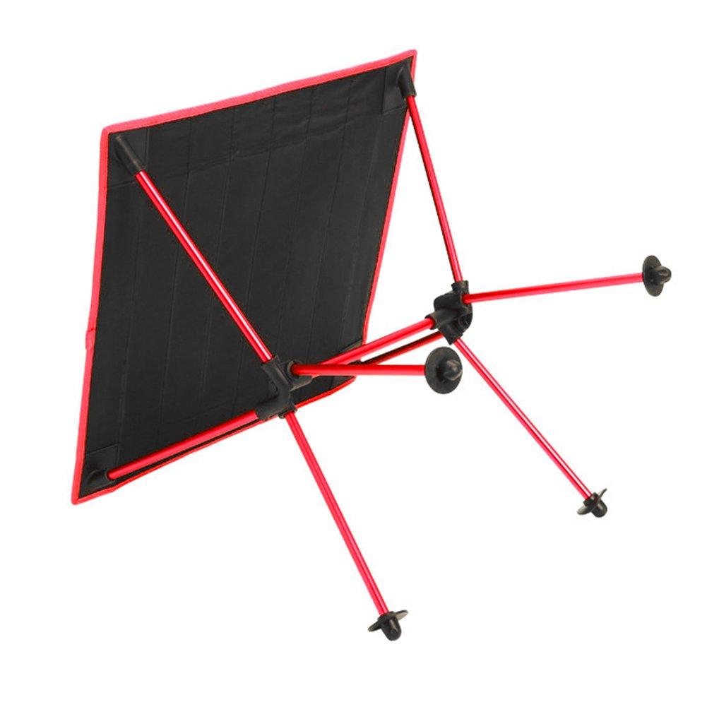 Domybest Mesa de Escritorio plegable Mesa de camping camping plegable de aluminio Impermeable para camping de Picnic Senderismo Barbacoa (rojo) 46c328