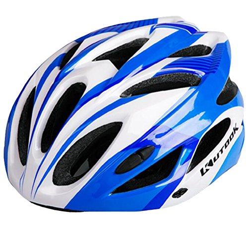 KUTOOK Cycling Helmet Road Mountain Bike Helmet Adjustable Lightweight Helmet for Adults Men Women Safety Protection 23