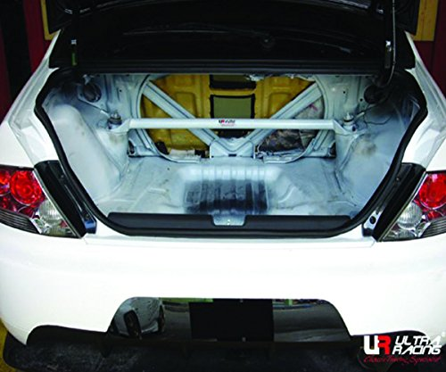 Mitsubishi Strut Bar - ULTRA RACING 2-Point Rear Strut /Tower Bar Mitsubishi LANCER EVO 7 8 9 RE2-396