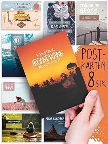MOTIVATIE 8 inspirerende postkaarten set nr 3leuke afbeeldingenmotievenspreukentekstenwijsheidmindfulnesscoachingteamscitatenspreukgevoelensgroepsvragengiftmix decoratie