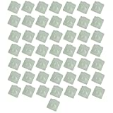 Optimus Electric Fresnel Lens White HDPE Material for Pyroelectric Infrared Motion Sensor Human Body Detector from Pack of 100