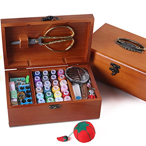 How to buy the best sewing box large wooden?