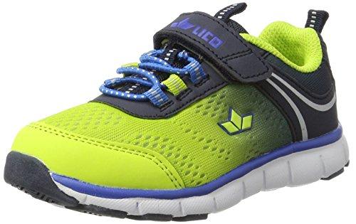Lico Jump Vs, Zapatillas Para Niños Amarillo (Lemon/marine/blau)