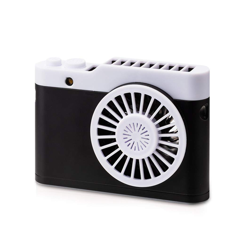 1KTon Rechargeable Portable USB Powered Cooling Fan Handheld Mini Fan for Kids Girls Woman Home Office Outdoor Travel