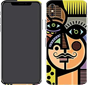 Switch iPhone X Skin For Him Cubist