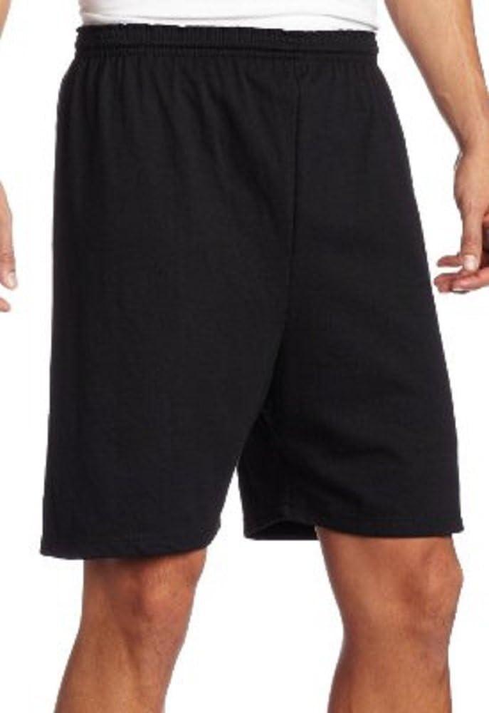 Soffe Heavy Weight Black Jersey Short-3XL