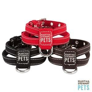 Amazon.com : Martha Stewart Fabric Dog Harness Black