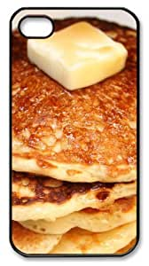 good iphone 4 case Breakfast PC Black for Apple iPhone 4/4S