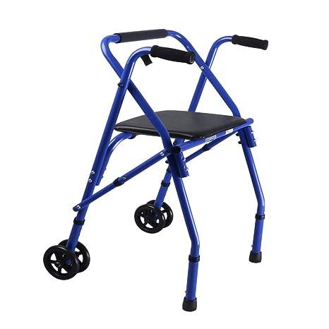 Andador ergonómico Ajustable con Altura Regulable y Andador ...