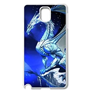 Blue Dragon Hard Plastic Phone Case for samsung galaxy note 3 Shell Phone ZDSVEN(TM)