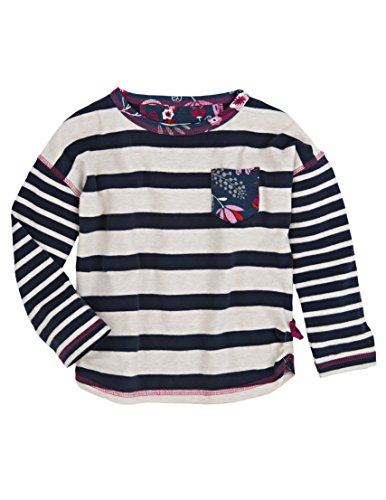 Hatley Kids Girl's Long Sleeve Tee - Field Flowers (Toddler/Little Kids/Big Kids) Blue 5 (Little Kids) by Hatley