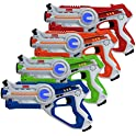 4 Pk Kidzlane Infrared Laser Tag Game
