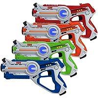 4 Pk Kidzlane Infrared Laser Tag Game