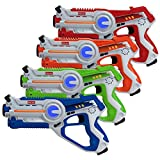 Kidzlane Laser Tag Game Mega Pack - Set of 4 - Laser Gun