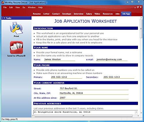 Counting Number Worksheets Job Seeking Skills Worksheets : Amazon.com: WinWay  Resume Deluxe 14
