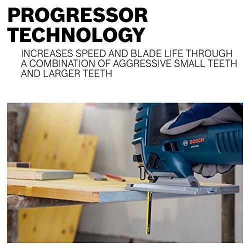 """Bosch T367XHM1 5-7 TPI Carbide Saw for All Purpose , 5-3/16"""""""