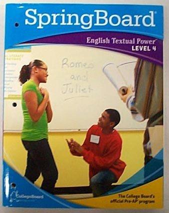 SpringBoard English Textual Power Level 4