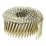 Hitachi 13340 2-1/2-Inch x .092 Ring Electro Galvanized Coil Nails