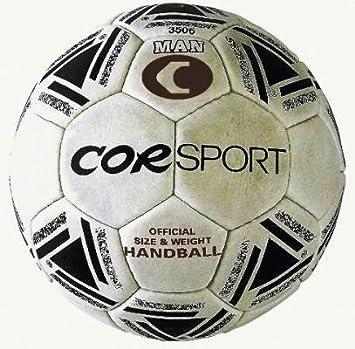 Balón corsport balonmano Hombre M3 piel sintética costura Cor ...