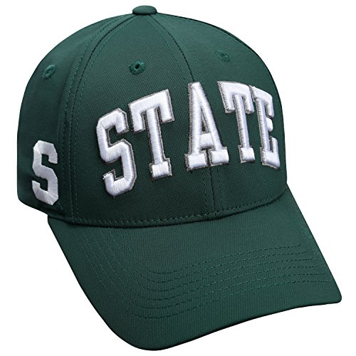 Michigan State Spartans Official NCAA Fresh Hat Classic Cap by Top of the World 705422