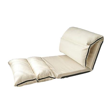 Awesome Amazon Com Xhlxhl Folding Lazy Sofa Chair Floor Chair Machost Co Dining Chair Design Ideas Machostcouk