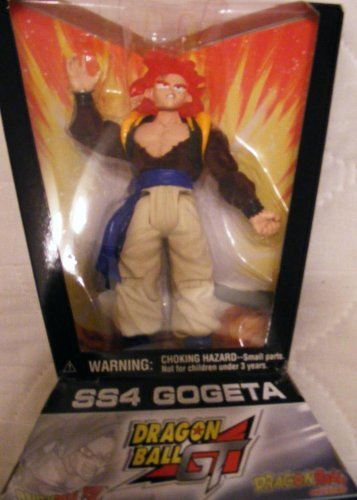 "Dragonball GT 6"" SS4 GOGETA (TRILOGY SERIES 1) ACTION FIGURE - JAKKS"