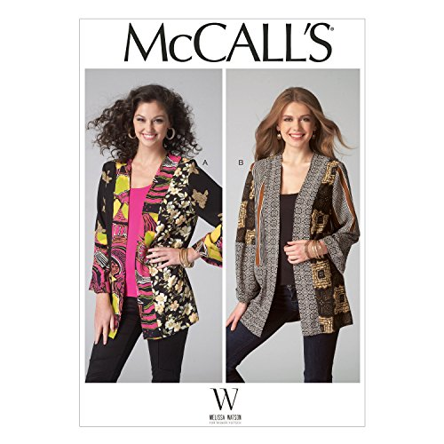 McCall's Patterns M7132 Misses' Jackets, Size ZZ (LRG-XLG-XXL)