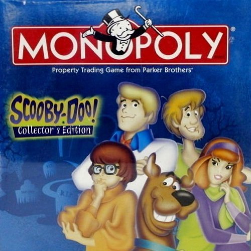 USAopoly Scooby Doo Monopoly Board Game- Collectors Edition