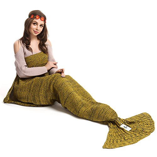 kpblis-knitted-mermaid-tail-75-inch-by-31-inch-blanket-yellow