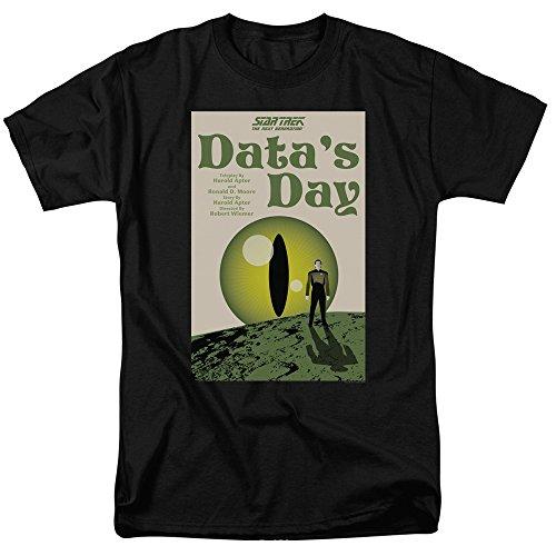 Star Trek: The Next Generation Data's Day Juan Ortiz Poster Unisex Adult T Shirt For Men and Women