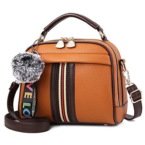 Yellow Ladies Bags Shoulder Satchel Top A Women handle Crossbody Tibes Earthy Bag Handbags 7UAqAdw